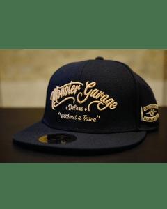 Monster Garage Dismantlers Flatbill Snapback Hat - Black