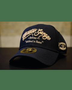 Monster Garage Dismantlers Roundbill Snapback Hat - Black