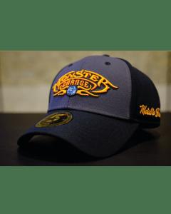 MONSTER GARAGE BASIC LOGO ROUNDBILL HAT - GREY/BLACK