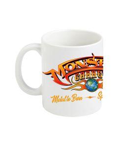 MONSTER GARAGE COFFEE MUG - WHITE